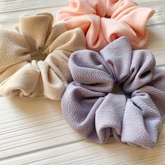 Spring Knit Scrunchies