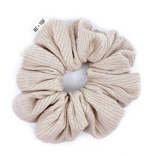 Premium Scrunchie - Knit Ivory