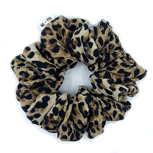 Premium Scrunchie - Leopard (Wholesale)