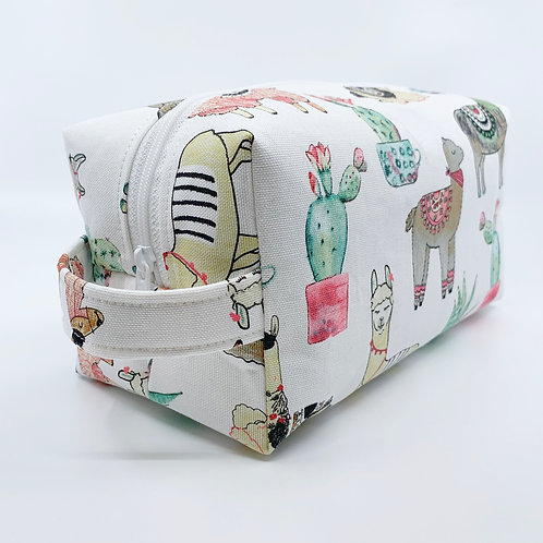 Large Box Bag - Llama Drama