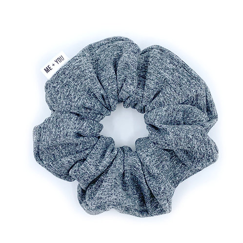 Premium Scrunchie - Heather Grey Athletic Knit (Wholesale)