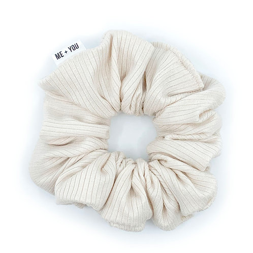 Premium Scrunchie - Knit Porcelain (Wholesale)