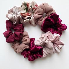 Rose Scrunchies