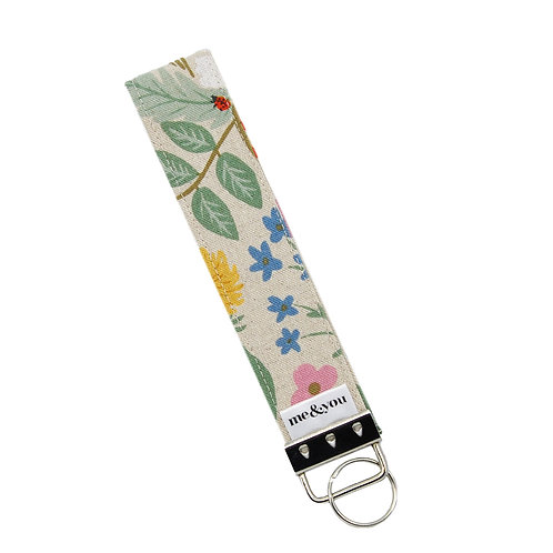 Butterfly Fields Cream - Key Fob