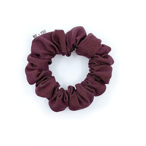 Mini Scrunchie - Sugar Plum Winter Knit