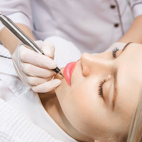 Procédure permanente de maquillage