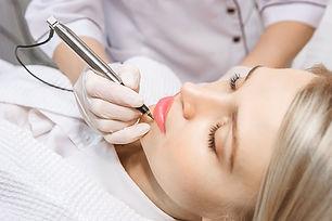 Permanent Make-up Verfahren