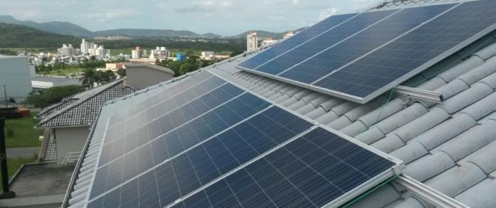 Sistema fotovoltaico residencial 2