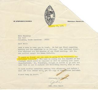 John Guest letter: new name