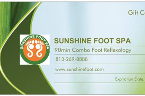 90min Combo Foot Reflexology