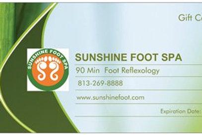90min Foot Reflexology