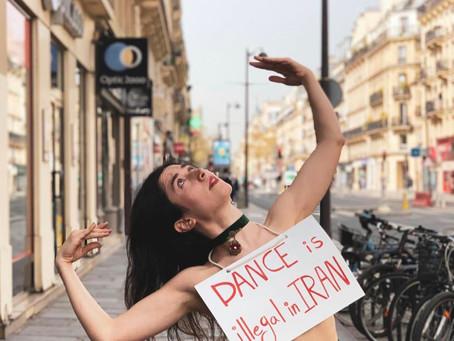 No Dance Is Illegal by Sanaz Ghorbani