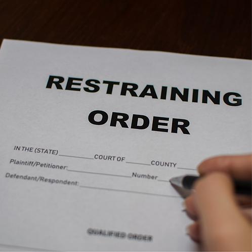 Restraining Order Spell!