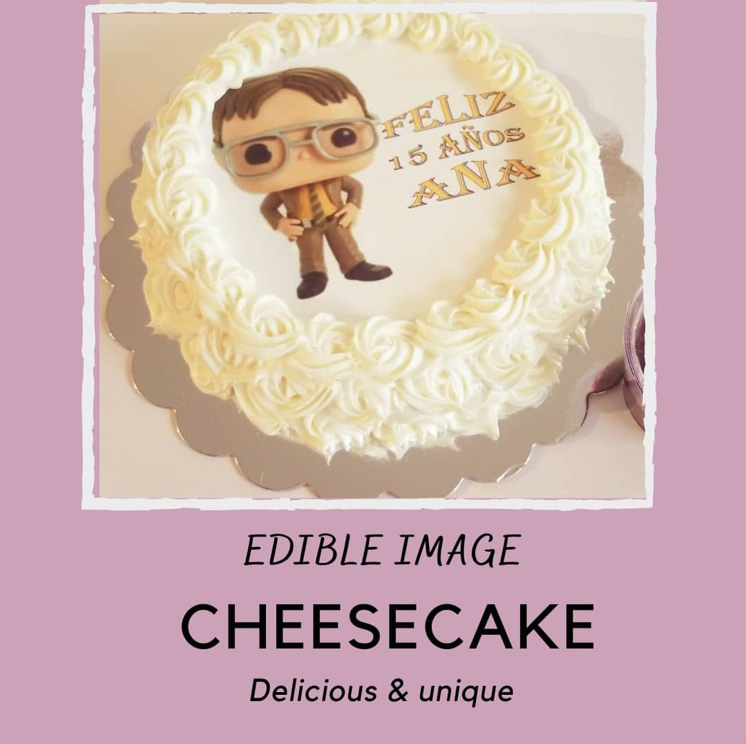 Edible cheese cake