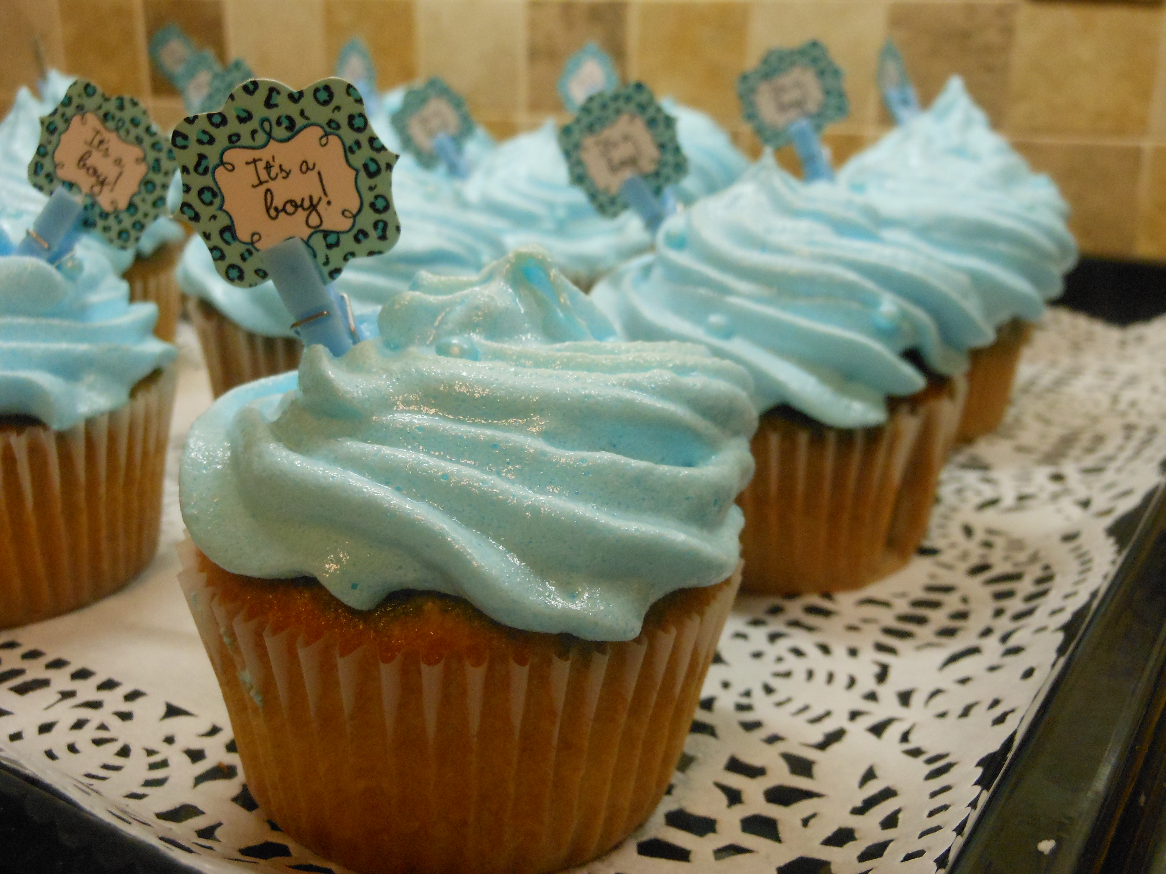 Center-Filled Cupcakes