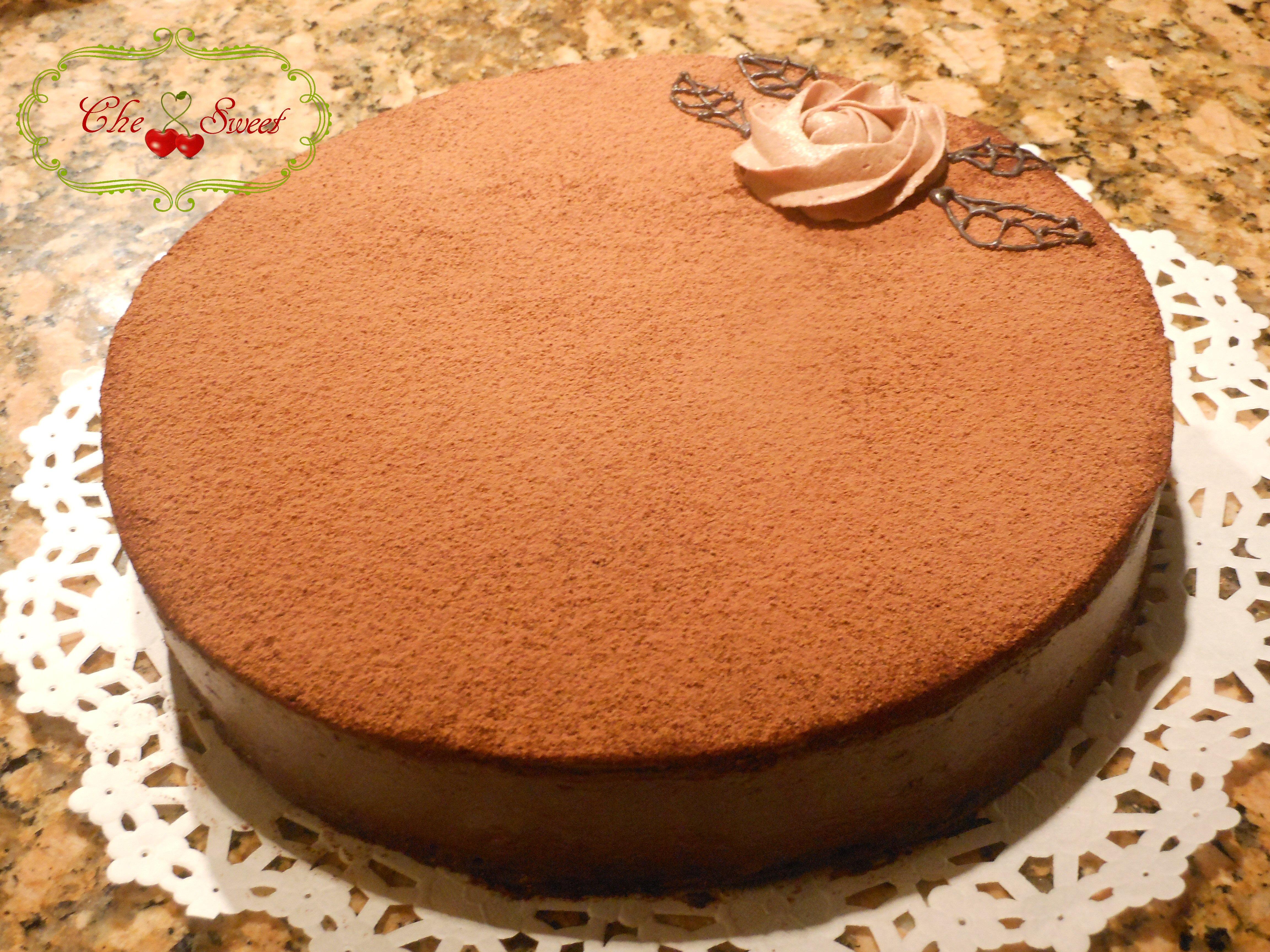 Chocolate butter cream cake