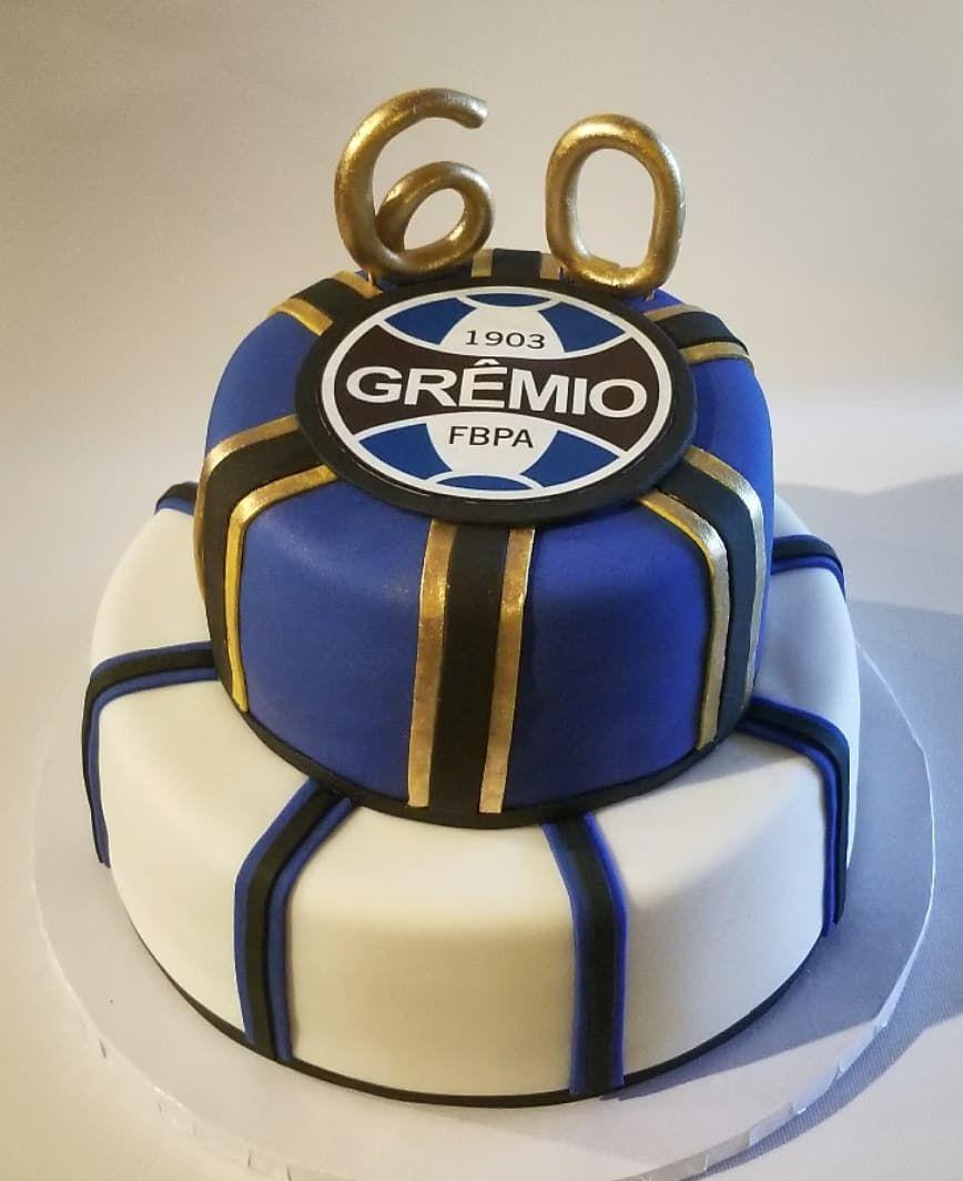 Brazilian soccer cake