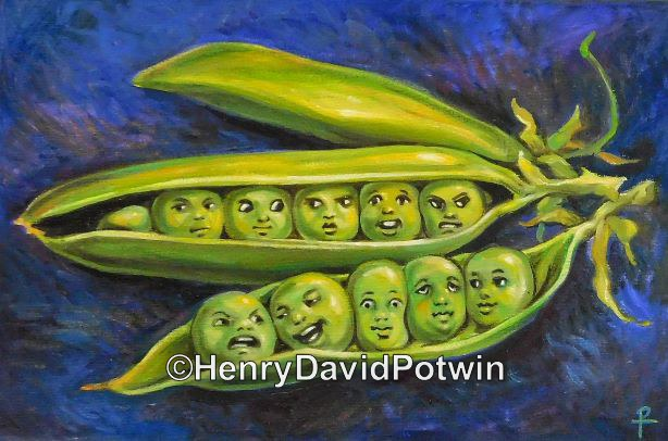Peas in a Pod 11 x 16 2015