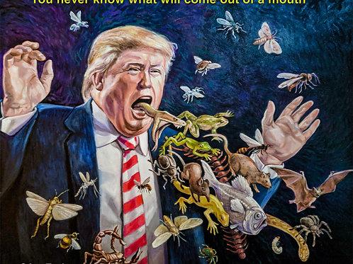 Trump lol swamp frog snake president