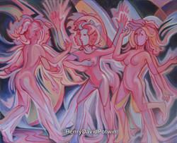 3 Dancers 24X20 2015