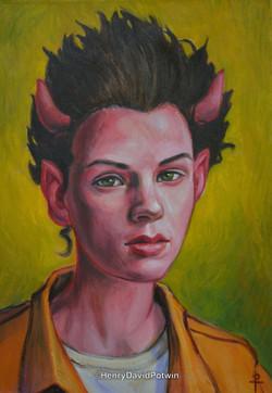 Devil Woman 20X14 2015