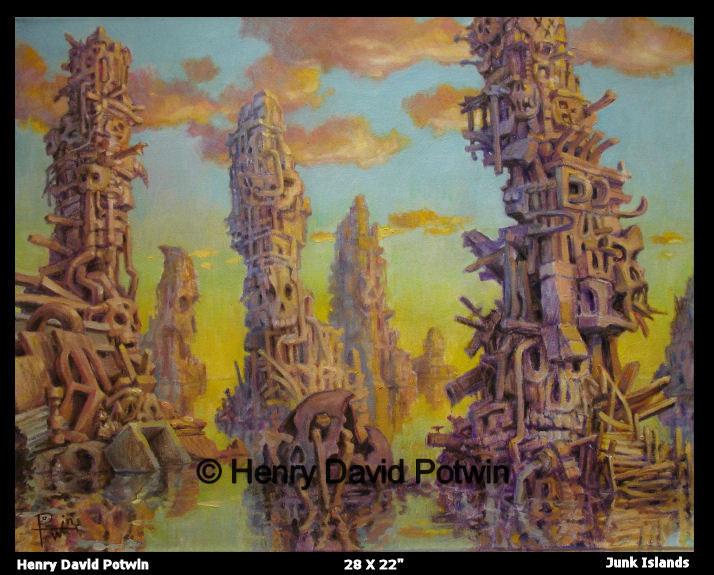 Junk Islands 28X22 2007