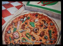 Junk Food Pizza 18X24 2010