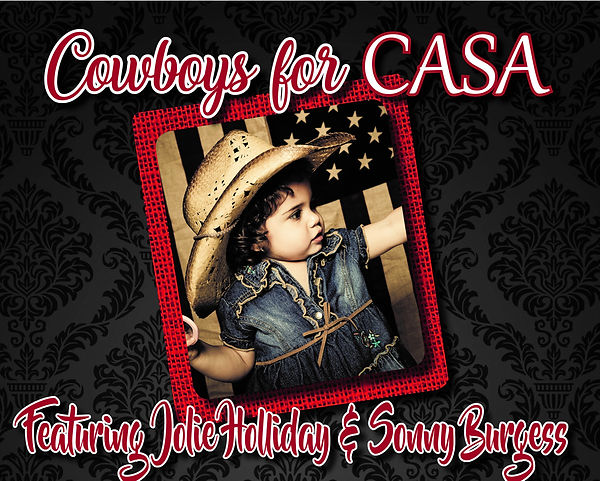 8.5x11 Cowboys for CASA Flyer Black and