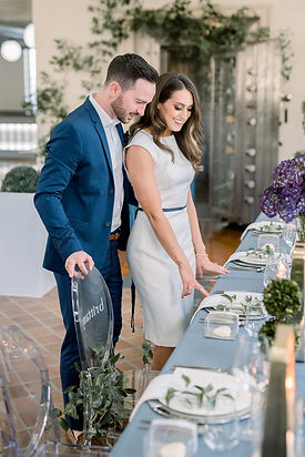 Bride & Groom Blue by Vault at The Bank