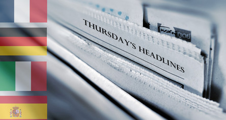 22/10/2020 - Football News Headlines from Europe (+ The Athletic)