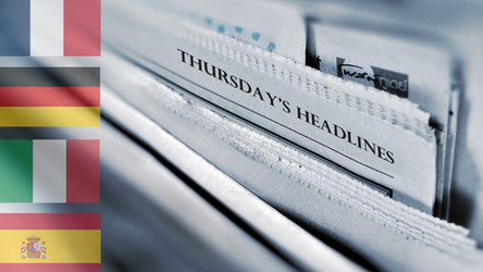 14/01/2021 - Football News Headlines from Europe (+ The Athletic)