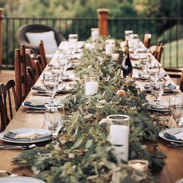 Farm Tables & Mix Match Chairs