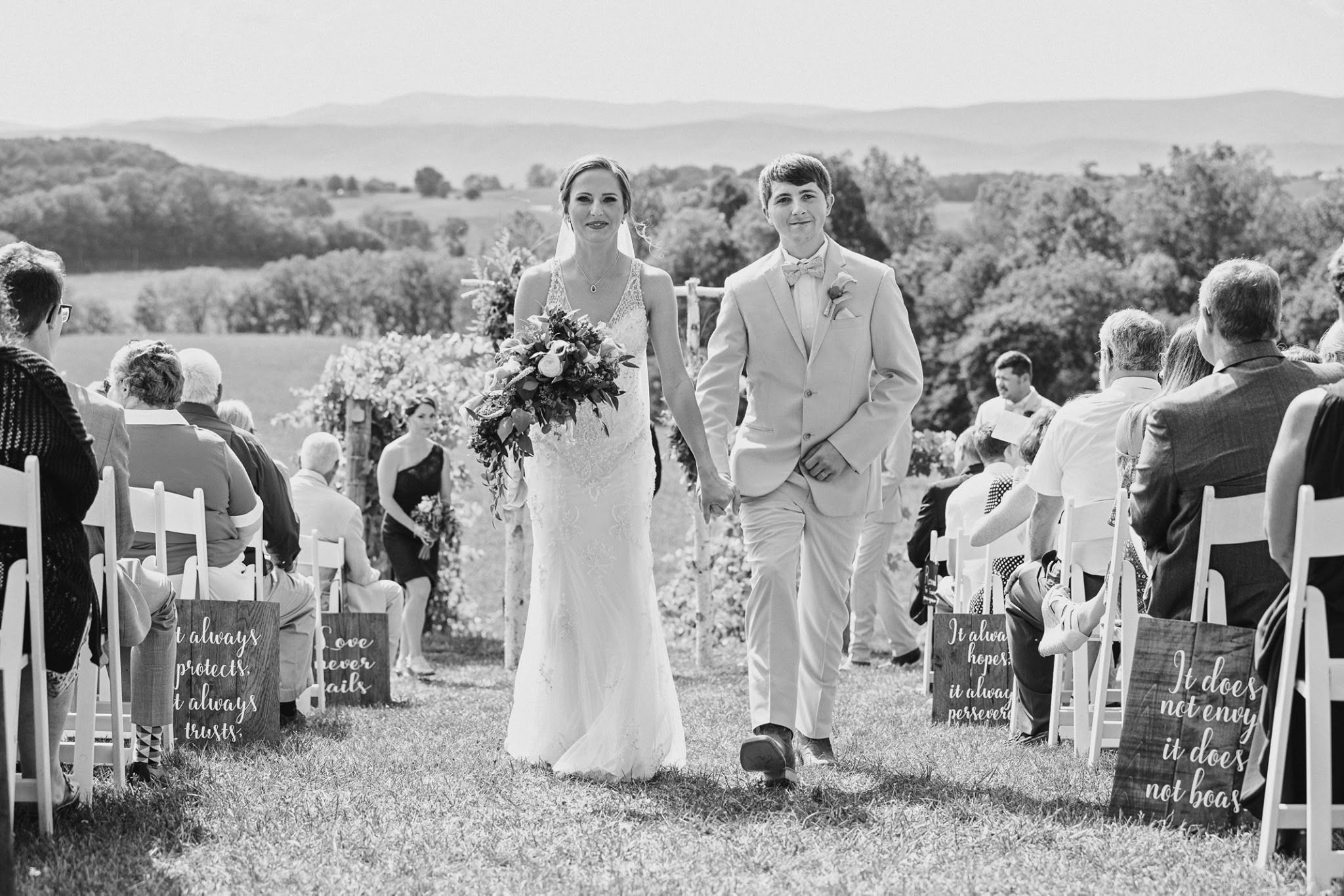 Ward Bluestone Vineyard Starks Wedding