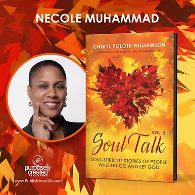 Necole Muhammad Soul Talk Badge.png