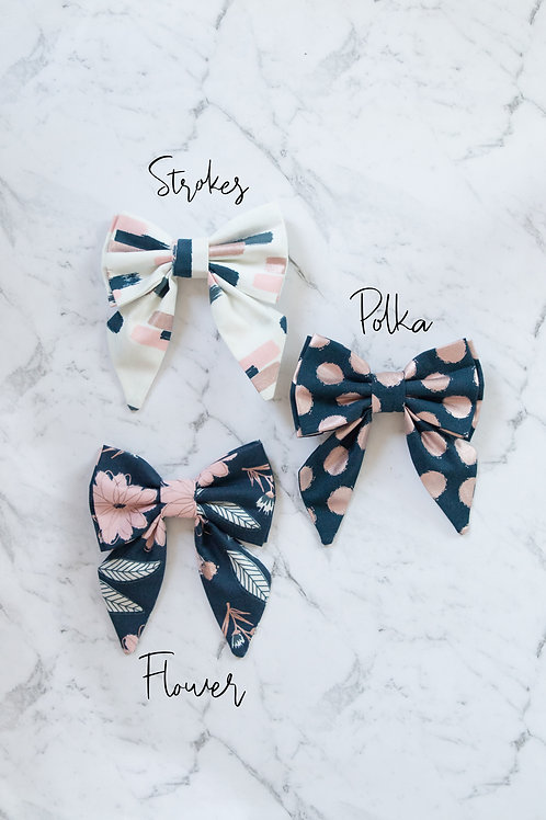 Blush collection Sailor Bows and Bow Ties