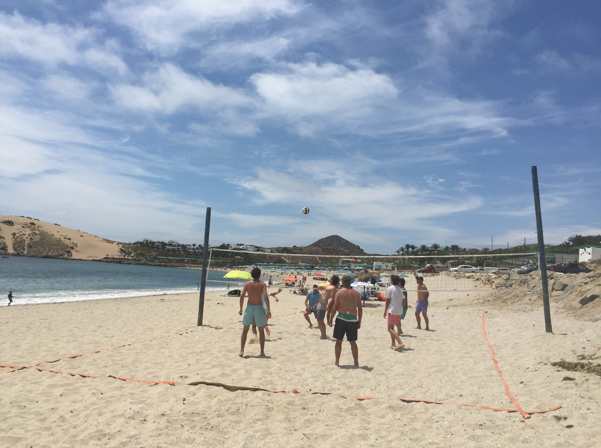 Voleibol playero Club Playa Blanca