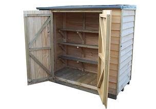 Wooden Courtyard Cupboard garden shed