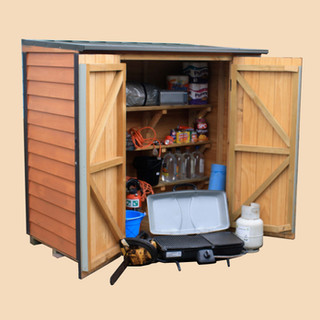 Earthquake Supply Storage