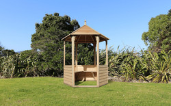 Waihi Gazebo with weatherboard sides