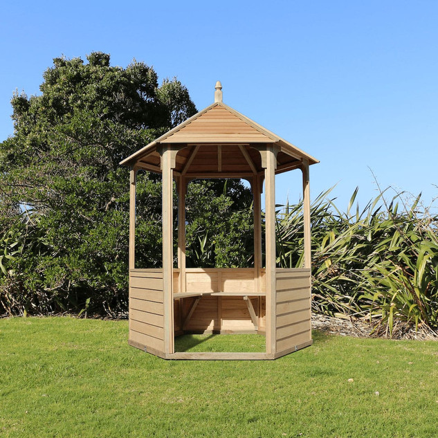 Waihi Gazebo with weatherboard panels