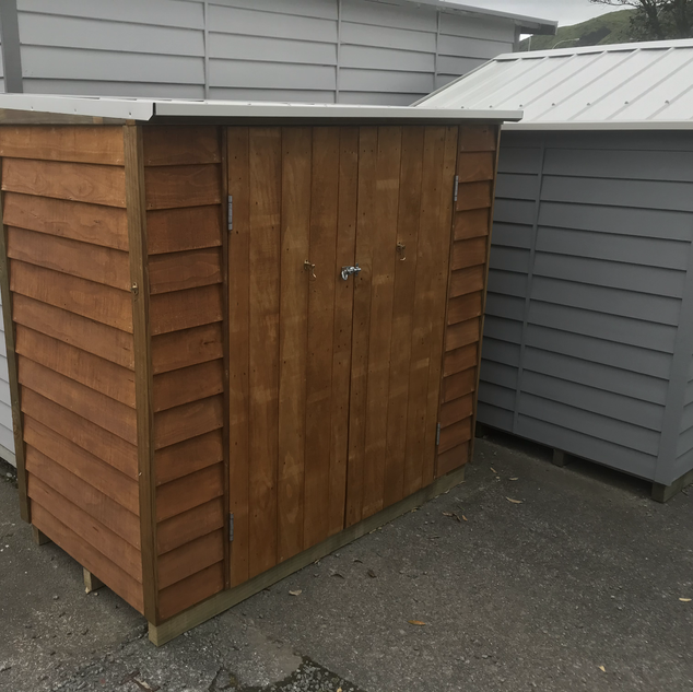 Kapiti Lean-to Courtyard Cupboard