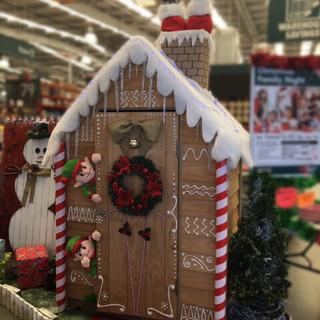 Bunnings Christmas Courtyard Cupboard