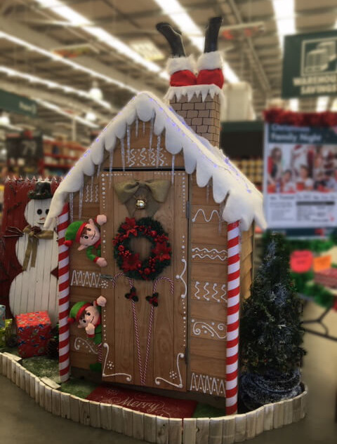 Bunnings Christmas Courtyard Cupboard