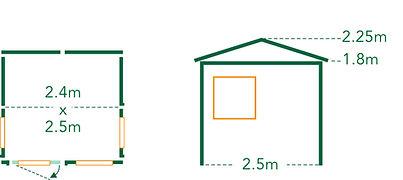 Summerhouse Nikau Floorplan