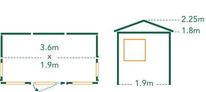 Summerhouse Pohutukawa Floorplan