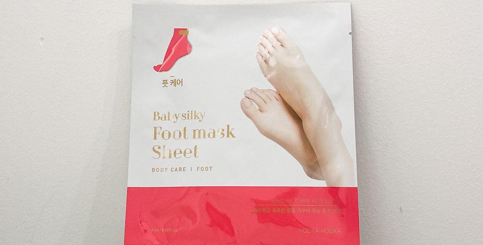 [Holika Holika] Baby Silky Foot Mask Sheet