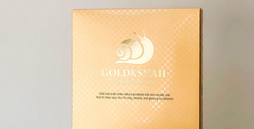 [Petitfee] Gold & Snail Hydro Gel Mask (Single)