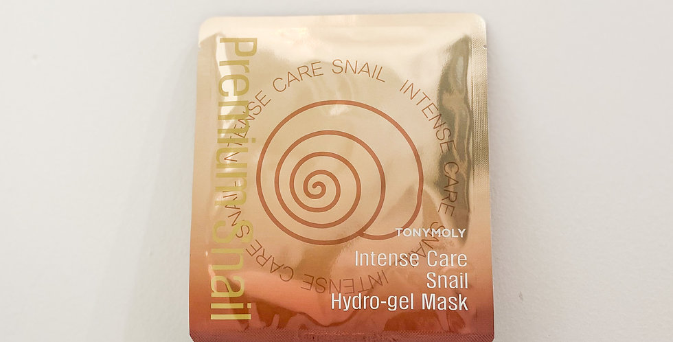 [Tonymoly] Intense Care Snail Hydrogel Mask