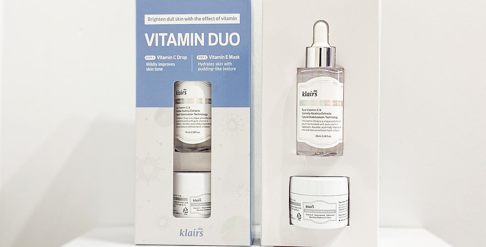 [Klairs] Vitamin Duo Trial Kit