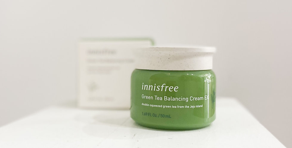 [Innisfree] Green Tea Balancing Cream EX